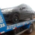 remoção-de-veículo-carro-peugeot-207 Araquari sc